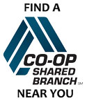 Find a Co-Op shared Branch near you