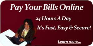 Pay your bills online.