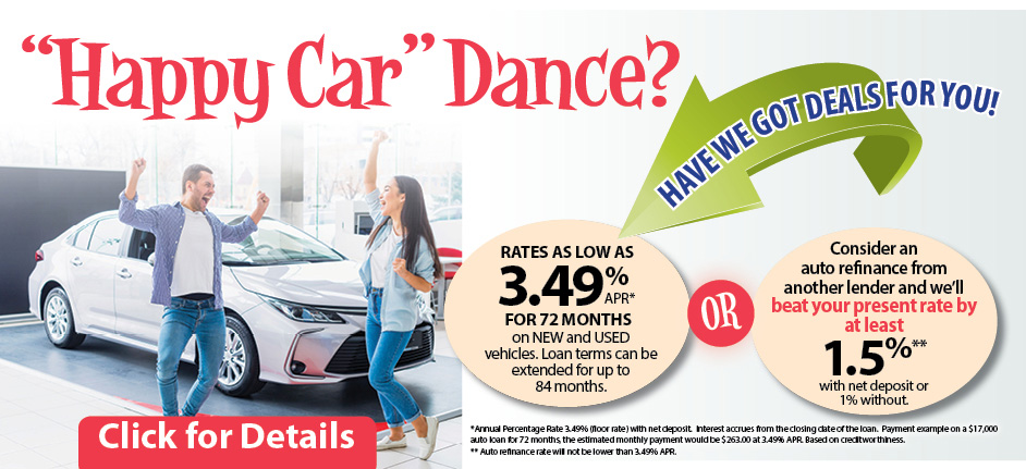 Happy car dance? Have we got deals for you