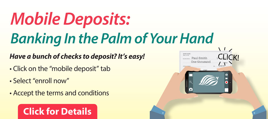 Mobile Deposits, Banking In the Palm of Your Hand