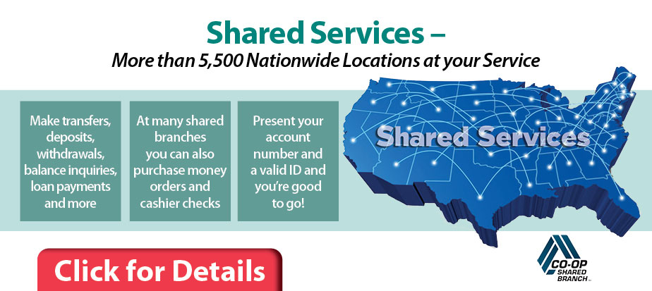 Shared services. More than 5500 locations at your service