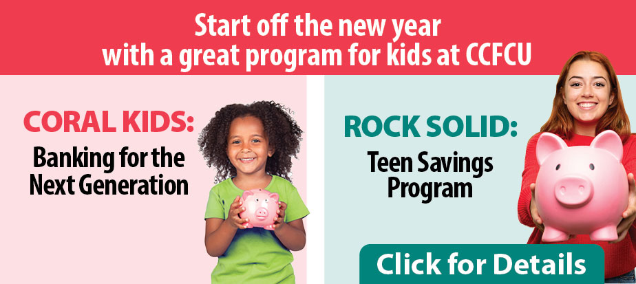 Start the new year with a great program for kids at CCFCU
